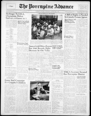 Porcupine Advance, 20 Mar 1947