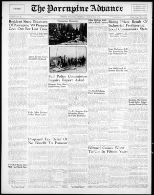 Porcupine Advance, 27 Mar 1947