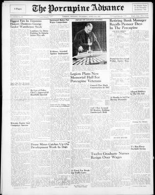 Porcupine Advance, 3 Apr 1947
