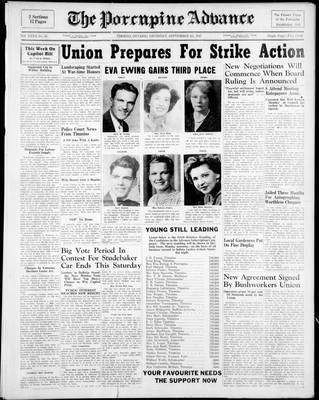 Porcupine Advance, 4 Sep 1947