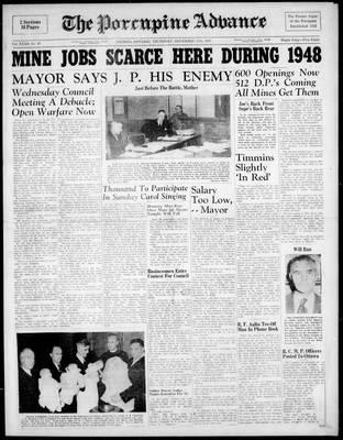 Porcupine Advance, 11 Dec 1947
