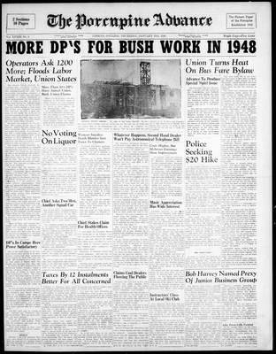 Porcupine Advance, 29 Jan 1948