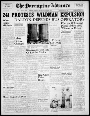 Porcupine Advance, 4 Mar 1948