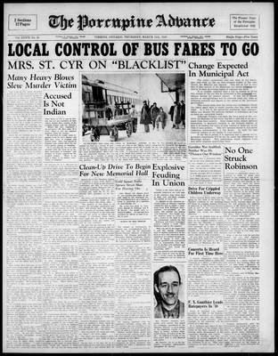 Porcupine Advance, 11 Mar 1948