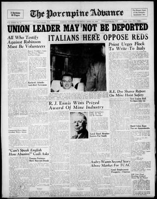 Porcupine Advance, 1 Apr 1948