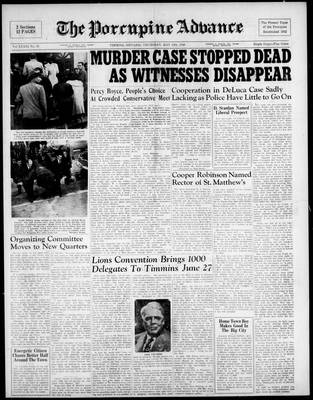 Porcupine Advance, 13 May 1948