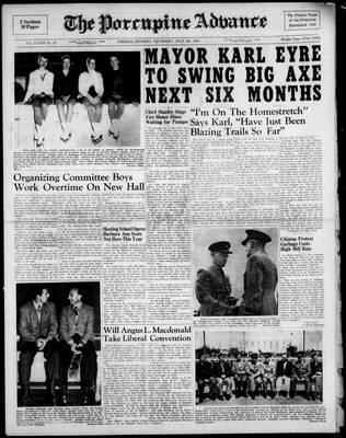 Porcupine Advance, 8 Jul 1948