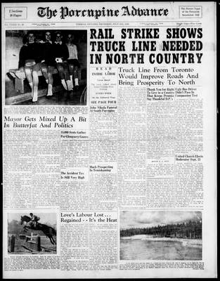 Porcupine Advance, 15 Jul 1948