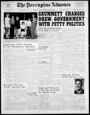 Porcupine Advance, 22 Jul 1948
