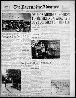 Porcupine Advance, 5 Aug 1948