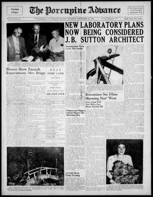 Porcupine Advance, 9 Sep 1948