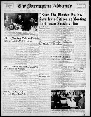 Porcupine Advance, 23 Sep 1948