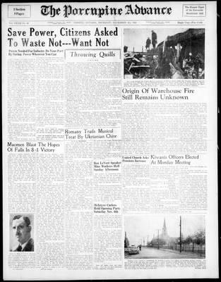 Porcupine Advance, 4 Nov 1948