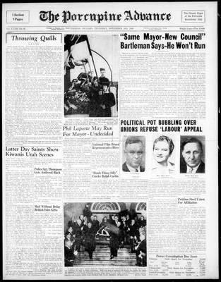 Porcupine Advance, 18 Nov 1948