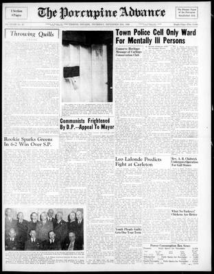 Porcupine Advance, 25 Nov 1948