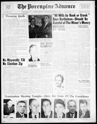 Porcupine Advance, 2 Dec 1948