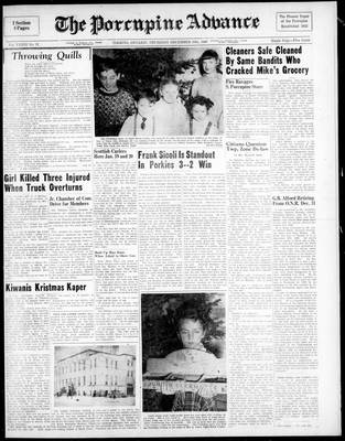 Porcupine Advance, 30 Dec 1948