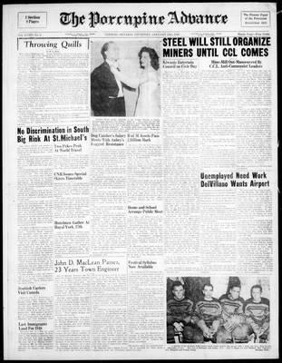 Porcupine Advance, 13 Jan 1949
