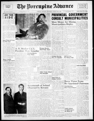 Porcupine Advance, 24 Mar 1949