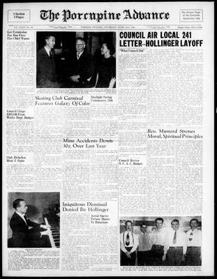 Porcupine Advance, 21 Apr 1949