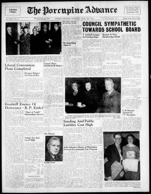 Porcupine Advance, 28 Apr 1949