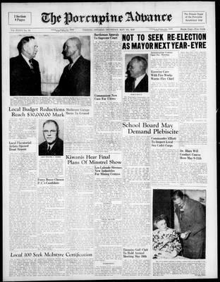Porcupine Advance, 5 May 1949