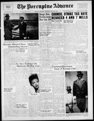 Porcupine Advance, 19 May 1949