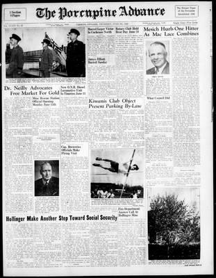 Porcupine Advance, 9 Jun 1949