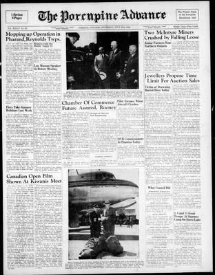 Porcupine Advance, 21 Jul 1949