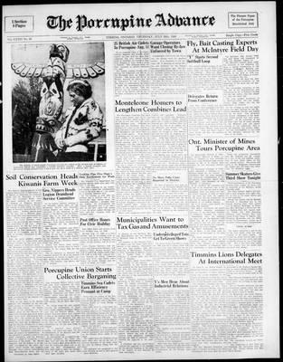 Porcupine Advance, 28 Jul 1949