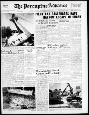 Porcupine Advance, 11 Aug 1949