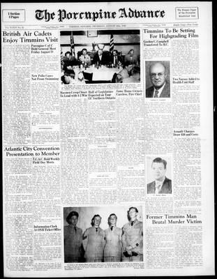 Porcupine Advance, 18 Aug 1949