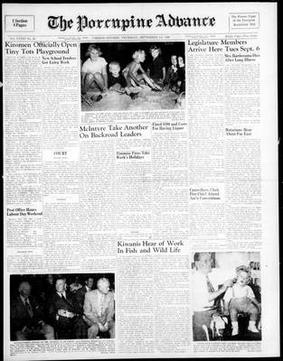 Porcupine Advance, 1 Sep 1949