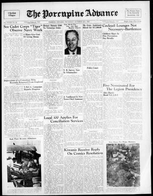 Porcupine Advance, 20 Oct 1949