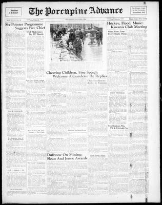 Porcupine Advance, 25 May 1950