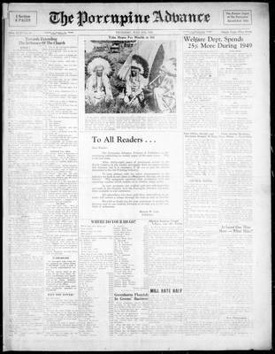 Porcupine Advance, 27 Jul 1950