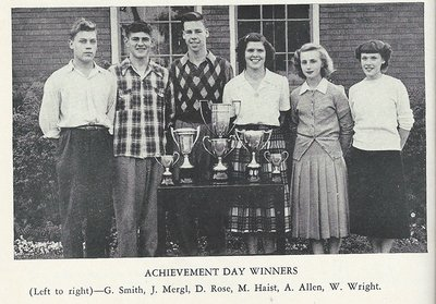 Pelham Pnyx 1950 - Photograph of Achievement Day Winners
