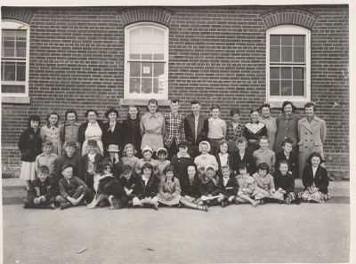 Coyne School 1954-55.