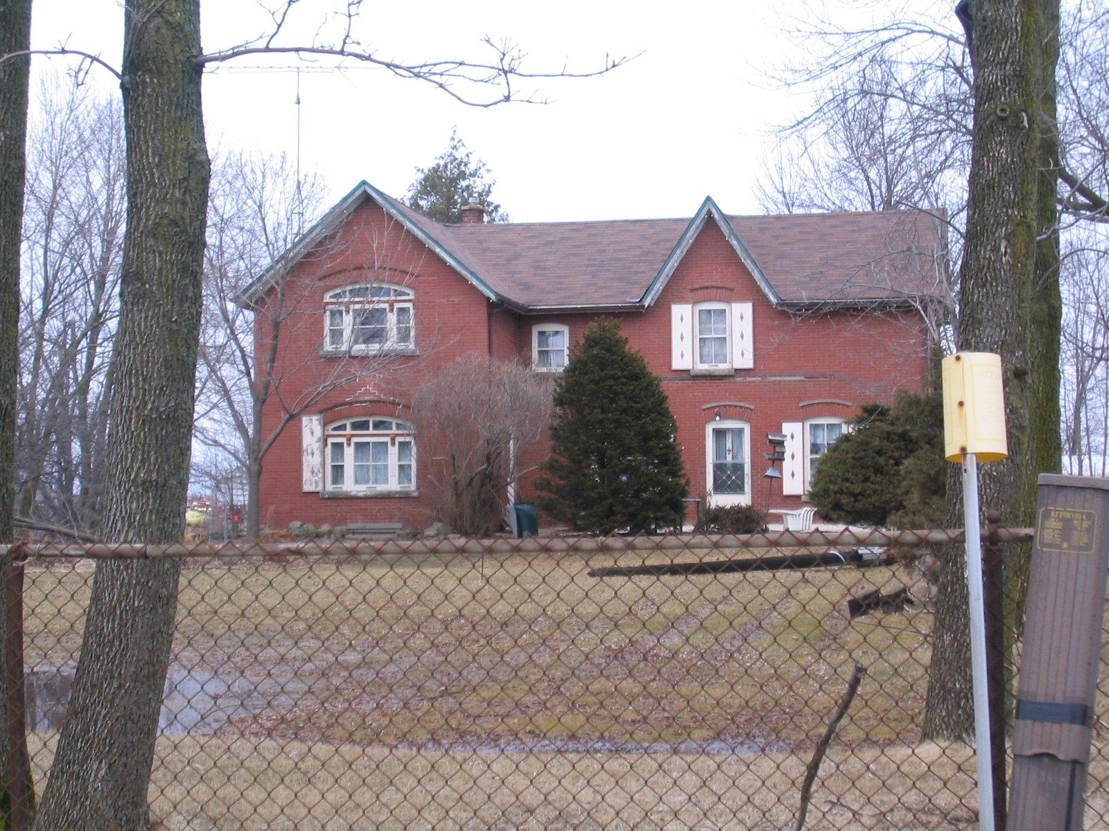 "7435 Ninth Line Designated ""Allie House"" by Mississauga Heritage."