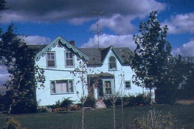 House at Southeast Corner of Palermo, ca1980.