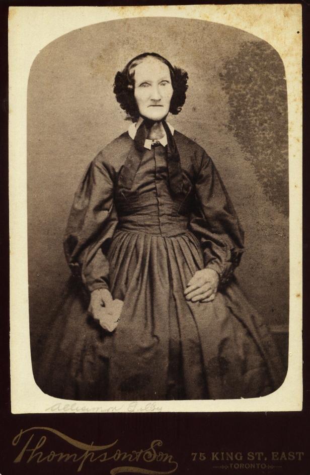 Alisemon (or Alisimon) Elizabeth (Straw) Gilby b.1816 d.1910