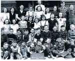 Munn's School, S.S. #3A, Halton County, Trafalgar Township, 1948-9