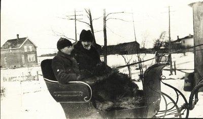 Gordon Wilson and George Hardy, 1915