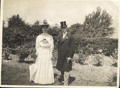 Wedding of Gertrude Hardy and Howard McGregor