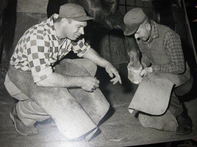 Palermo Blacksmith Shop, Interior, ca1965