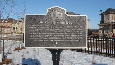 Emily Cline Farmhouse Plaque