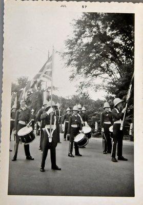 Trafalgar Boys Band, Oakville Centennial Celebrations, 1957