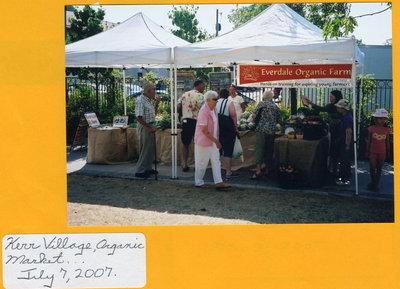 Kerr Village Organic Market, 2007