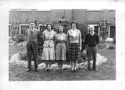 Bronte School Staff, 1946