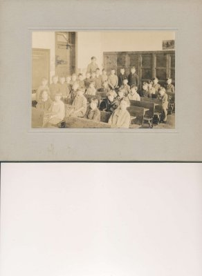 Inside Bronte School, 1927